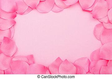 blühen blütenblatt, umrandungen