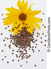 blüte, biopolymer