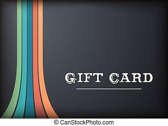 blac, cartão presente