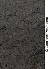 Blach Crumpled Paper Texture