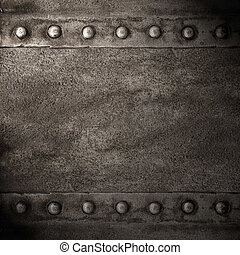 black abstract background or rust steel texture