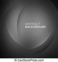 Black abstract background Vector illustration for your design