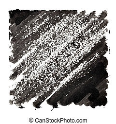 Black abstract background with slanting strokes