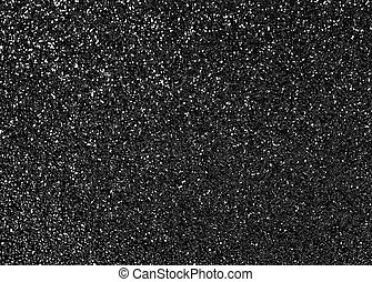 Black abstract glitter background