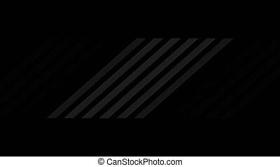 Black abstract technology motion background