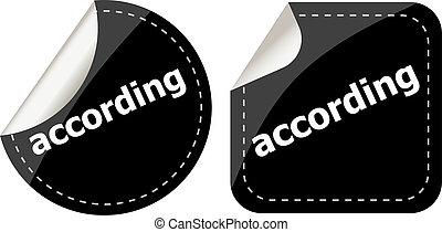 black according stickers set on white, icon button