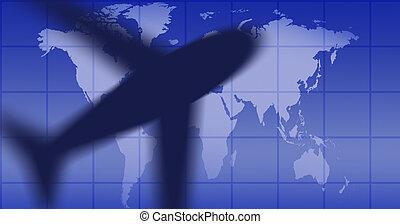 black airplane - black heavy airplane