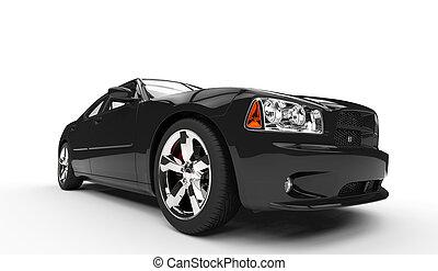 Black American Car