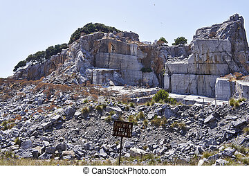 black and gold marble quarry - black and gold ( portoro)...
