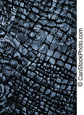 Black and grey fabric with flower pattern as background