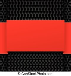 Black and red modern design