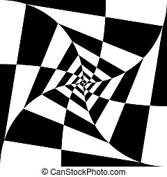Black-and-white abstract background