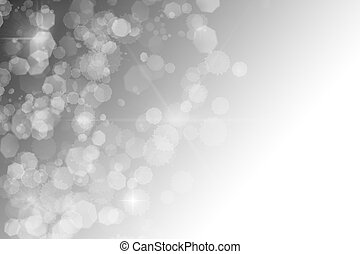 black and white abstract background white sparkles bokeh ...