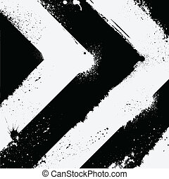 Black and white - Abstract black and white road background