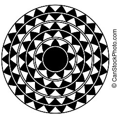 black and white abstract circle - abstract black and white...