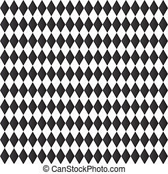 black and white abstract geometry pattern - black and white...