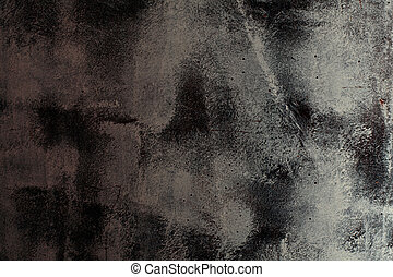 black and white abstract grunge texture background
