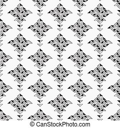 Black and white abstract seamless background