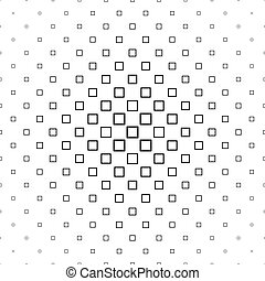 Black and white abstract square pattern design