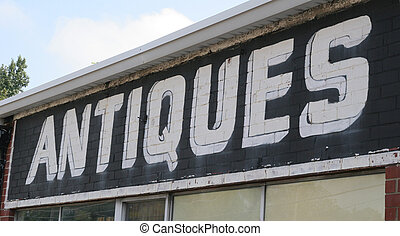 Black and White Antiques