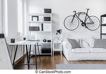 Black and white arrangement - Trendy minimalist black and...