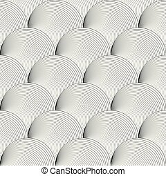 Black and white background seamless pattern on vector art.