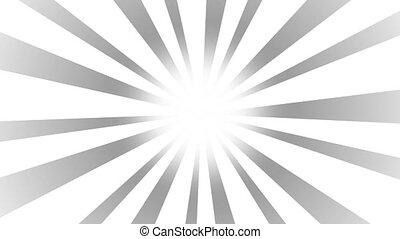 Black and white Burst background. Nice sunburst vintage...