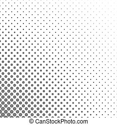 Black and white circle pattern design background