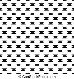 Abstract monochrome background with small angular figures