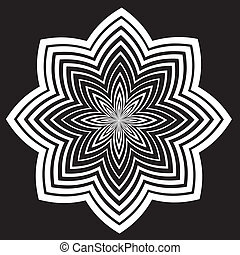 Black and White Design Pattern