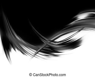 black and white - elegant abstract background with black and...