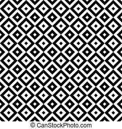 Black and white geometric pattern