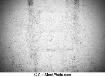 Black and White grunge brick wall background