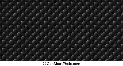 Black and white Hand drawn dots abstract background