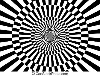 black and white illusions