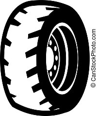 illustration of wheel