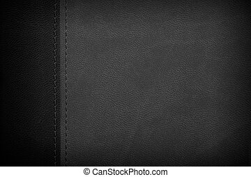 black and white leather background