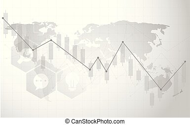 Minimal style world map simple stylized world map silhouette in black and white modern minimal style cloud computing networks structure world map point and line gumiabroncs Gallery