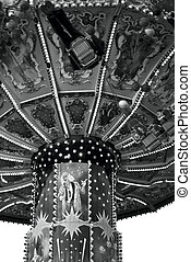 Black and White Oktoberfest Carousel