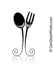 Dining - Black and White Series: Dining with Clipping Path