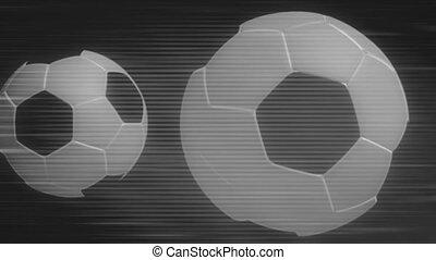 Black and White Soccer BG Two - Black and White Soccer...
