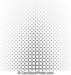 Black and white star pattern - abstract vector background