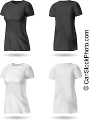 Black and White T shirt
