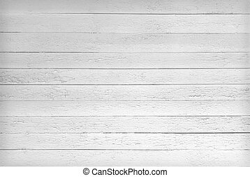 Black and white texture of wooden planks