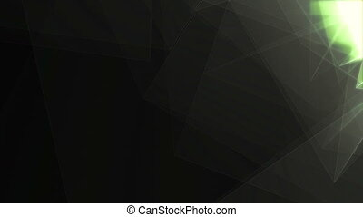 """""""Black and White Triangles Revolting """" - """"Artistic 3d..."""
