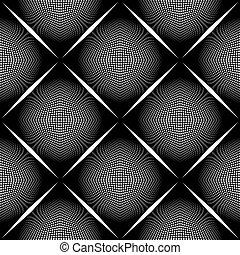 Black and white vector ornamental p