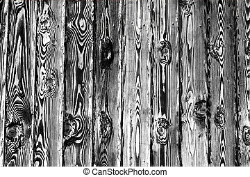 black and white wall wood