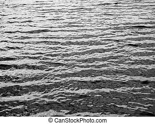black and white water background