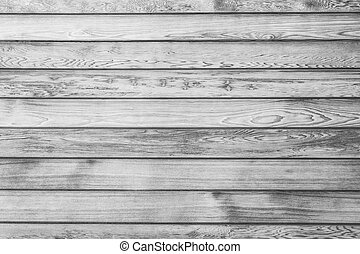 Black and white wood plank wall texture background