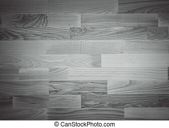 Black and white wooden background.
